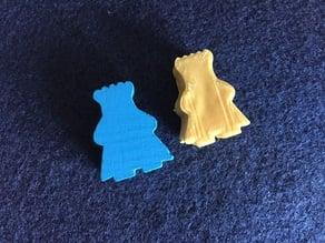 Kingdomino or Queendomino replacement king token