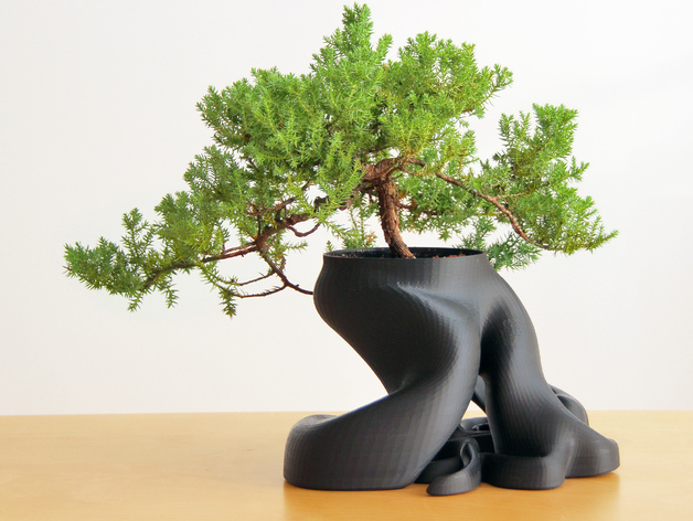 Bonsai Planter (New HD Model with over 1,100,000 Triangles) by gCreate -  Thingiverse