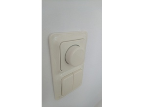 Dimmer knob adapter