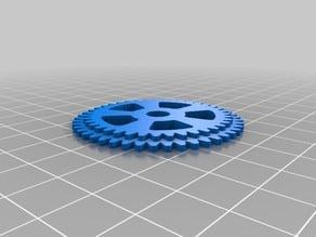 (3D Slash) 45_tooth_drive_gear