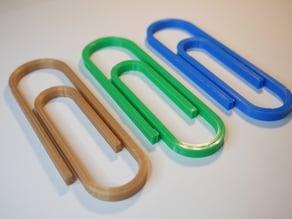 Big paper clip