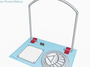 White Lantern Power Battery + parts