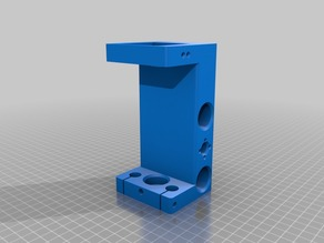 Spindle carriage 140 mm height for Dremel CNC
