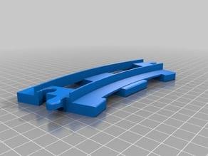 Lego Duplo Train Track Curved