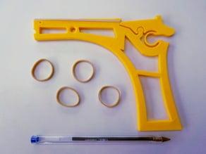 Pistolet à élastique - Rubber Band Gun