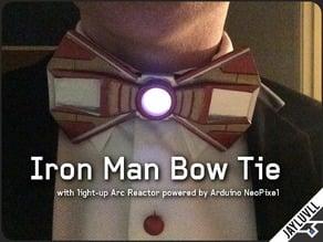 Iron Man Bow Tie