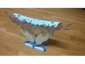 Chanukiah - Menorah. Hanukah