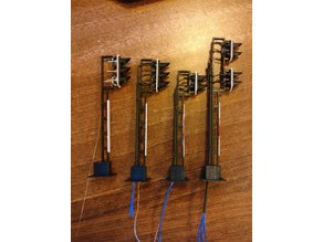 TT Scale (1:120) Signals for 3mm LED