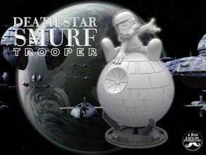 DEATH STAR SMURF TROOPER