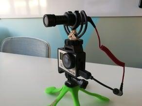 GoPro Hero Frame w Hot Shoe Mount
