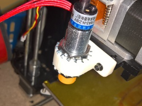 18mm Capacitive/inductive sensor holder for Geeetech Prusa i3x