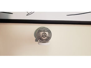 Challenge Coin Holder (Desk or Wall Mount)