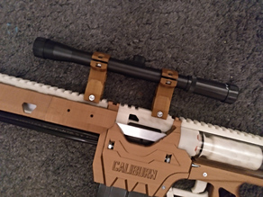 Picatinny mount for cheap 19mm scope