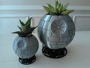 Death Star Planter