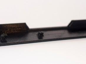 mitsubishi lancer evo roof rail rack cap cover