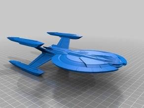 Star Trek - Federation Cardenas Class (USS Yeager/ISS Buran)