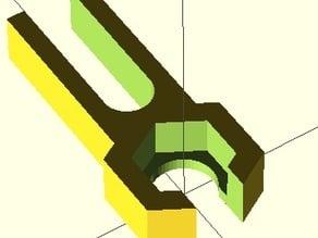 Parametric Prusa Z Screw Isolator