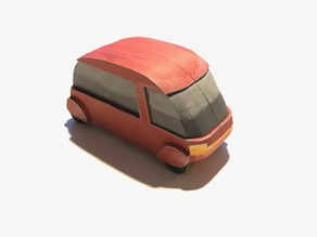 Toy Car Miniature for Tabletop 32mm - Scatter