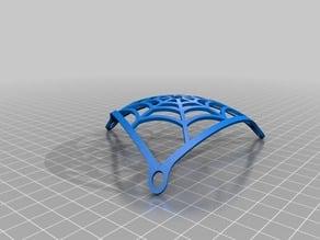 sexy bra spider mesh free nipple