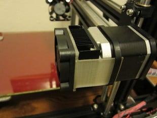 NEMA17 40mm Minimal Fan Clip