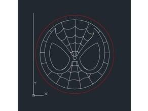LASER CUT SPIDER-MAN COASTER