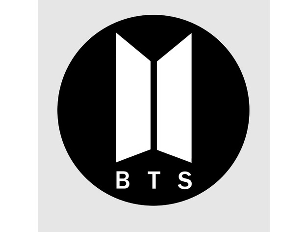 BTS logo (new) by Fayer_Super - Thingiverse