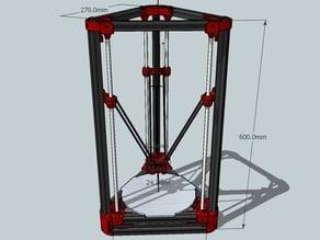 Delta'Q 3D Printer
