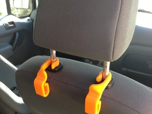 Car Seatback Trash Bag Hooks