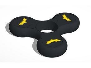 Batman fidget spinner with enclosed nuts M10