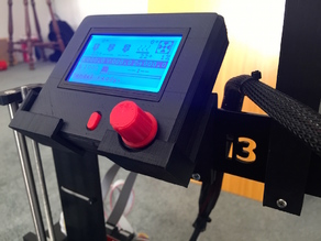 Full Graphic LCD Controller Cradle/Mount for Prusa i3
