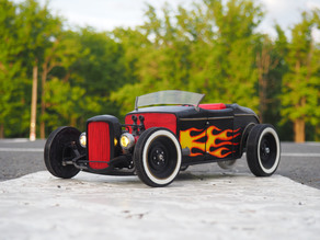 RC modification of the Tony Stark's Hotrod