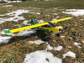 Bodied Foam RC Plane Brushless Motor Mount
