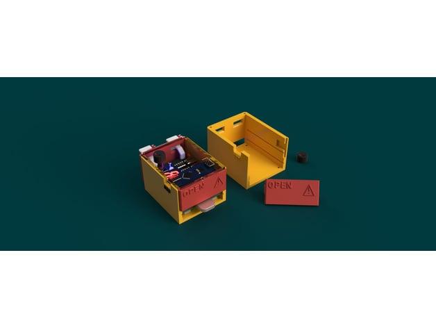 Arduino battery spot welder case by baltoran thingiverse