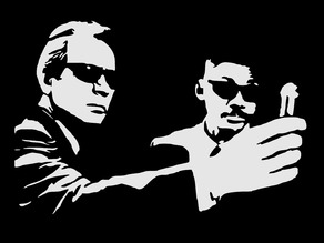 Men in Black stencil