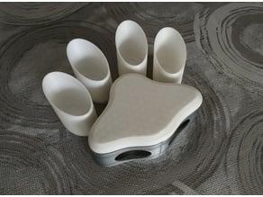 Cat paw playboard