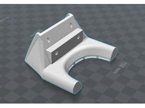 E3D 40mm Half Circle Fan for Anet A2 (REMIX)