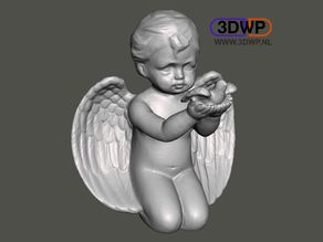 Angel Sculpture (Statue 3D Scan)