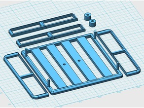 1/10th scale roof rack for crawler or dune buggy