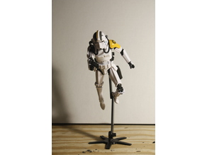 Flying Figure Stand For Star Wars Black series 6in Action Figures