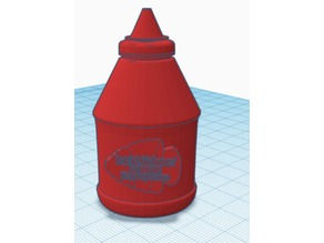 Patrick Mahomes' Famous Ketchup Sauce Bottle