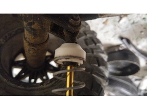 Axial Wraith spring retainer