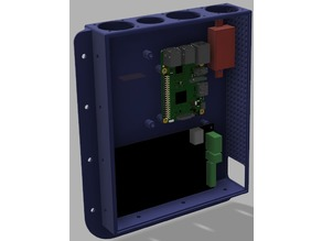 2020 Extrusion electronics case MKS 1.4