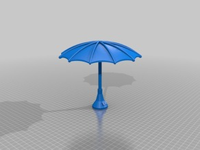 3DBear Picnic Umbrella - a Totoro with Umbrella remix