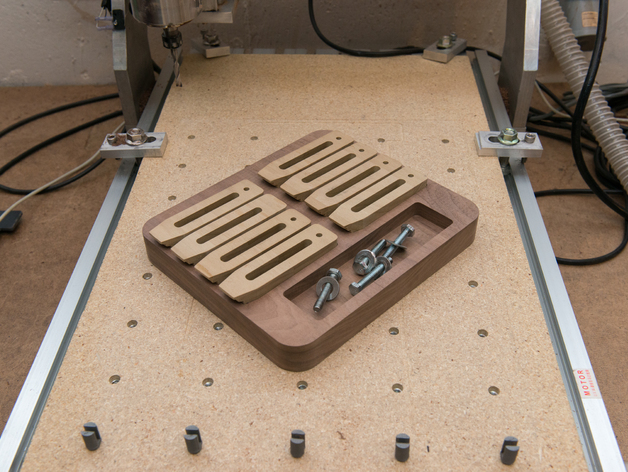 Cnc Router Clamp Tray By Sockles Thingiverse