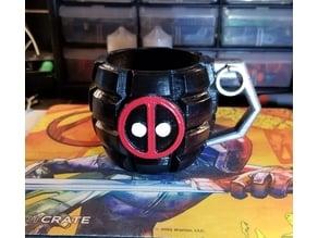Deadpool Grenade Mug
