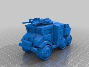 Interstellar Imperial Army - MRAP troop transport