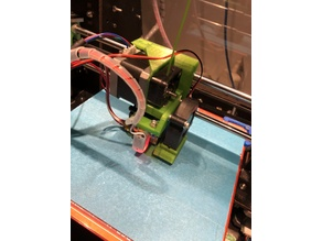 CTC X-Axis Carriage E3Dv6 Extruder
