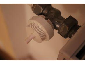 Giacomini valve heater adaptor