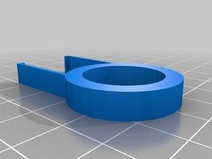 Parametric keycap puller