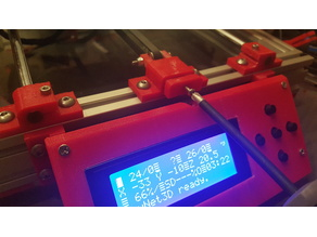 AM8 LCD Case Anet A8 Metal Frame Faceplate Remix